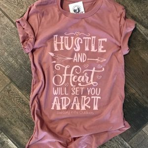 Hustle and Heart Tee